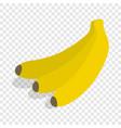 bunch of bananas isometric icon vector image