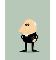 Cartoon priest vector image vector image