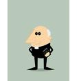 Cartoon priest vector image vector image