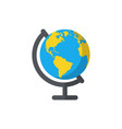 globe isolated flat web mobile icon image vector image vector image
