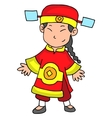 Happy Chinese New Year 2017 Character vector image vector image