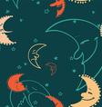 Moon pattern vector image