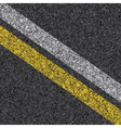 Stripes on asphalt vector | Price: 1 Credit (USD $1)
