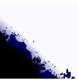 Abstract black and white ink background vector image