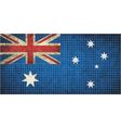 Australian Flag Mosaic vector image