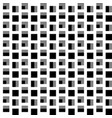 repeatable pattern with squares geometric vector image vector image
