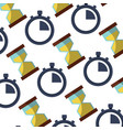 time icon image vector image