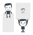 weight icon man set011 vector image vector image