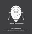 android beta droid robot technology icon glyph vector image vector image