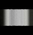 background of gray waves vector image