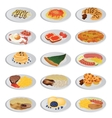 big food set vector image