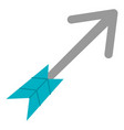arrow indian isolated icon vector image