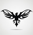 Black Eagle Tribal vector image vector image