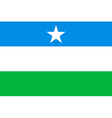 Flag of Puntland vector image vector image