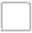 frame black 3 1001 vector image vector image