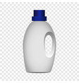 house bottle cleaner mockup realistic style vector image vector image