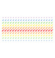 missile launch shape halftone spectral effect vector image vector image