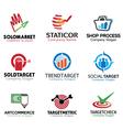 Shop Marketing Design vector image vector image