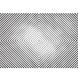 striped engraving halftone background vector image vector image