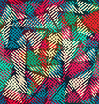 bright triangle seamless texture vector image