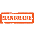 Handmade stamp vector image