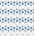 abstract seamless pattern triangles with rounded vector image