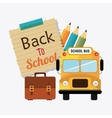 Back to school season vector image vector image