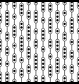 black and white monochrome seamless pattern vector image vector image