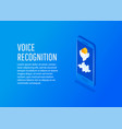 bright voice and sound imitation lines vector image