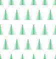 christmas tree seamless pattern1 vector image