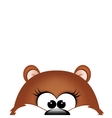 Groundhog day Marmot on white background vector image vector image