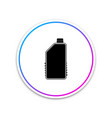 household chemical blank plastic bottle icon vector image