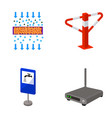 internet facility equipment and other web icon vector image