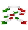 italy insignia vector image