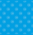 no mosquito pattern seamless blue vector image vector image