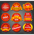 Offer label vector image