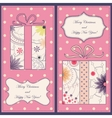 Set of christmas and new year cards with gifts