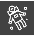 Space Man II vector image