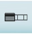 tape reel design vector image vector image