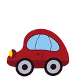 Toy Car Icon vector image vector image
