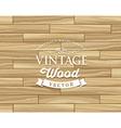 Vintage Tile wood floor striped design vector image vector image