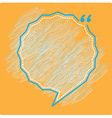 Bubble chat vector image