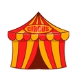 Circus tent icon cartoon style vector image vector image