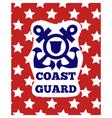 Coastguard vector image