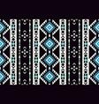 ethnic geometric seamless pattern tribal print vector image vector image
