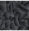 Low poly crystal background vector image vector image