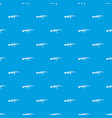 military rifle pattern seamless blue vector image vector image