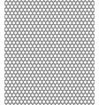 Sexangular stars pattern vector image