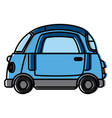 small car vehicle vector image vector image
