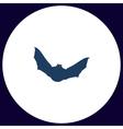 Bat computer symbol vector image vector image